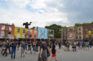 HellFest 2014, Clisson France - The Square