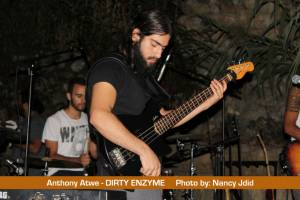 Antony Atwe (Bassist) from DIRTY ENZYME