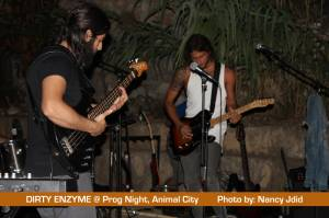 DIRTY ENZYME live @ Prog Night - Animal City, Naher El Kalb