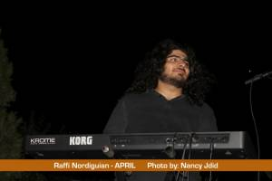 Raffi Nordiguian (Keyboardist) from APRIL