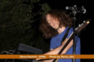 Ramy Hachem (Bassist, Synthesizer, Backing Vocals) from APRIL