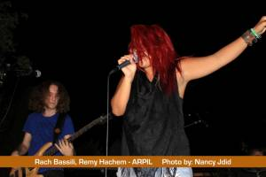 Rach Bassili (Vocalist) from APRIL