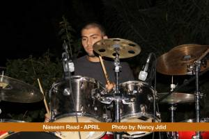 Naseem Raad (Drummer) from APRIL