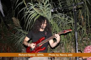 Richard Samia (Guitarist) From APRIL