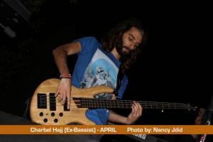 Charbel Hajj (ex-APRIL bassist) guest with APRIL on Harvest by Opeth