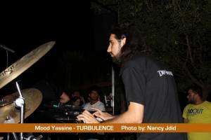 Mood Yassin (keyboardist) from TURBULENCE