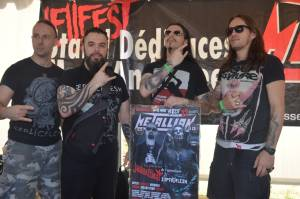 HellFest 2014, Clisson France - Septic Flesh At The Signing Sessions